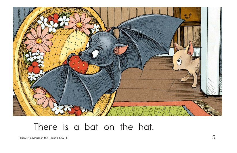Book Preview For There Is a Mouse in the House Page 5