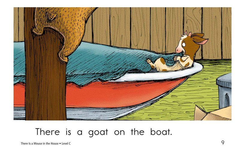 Book Preview For There Is a Mouse in the House Page 9