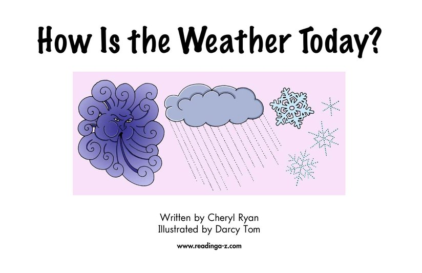 Book Preview For How Is the Weather Today? Page 2