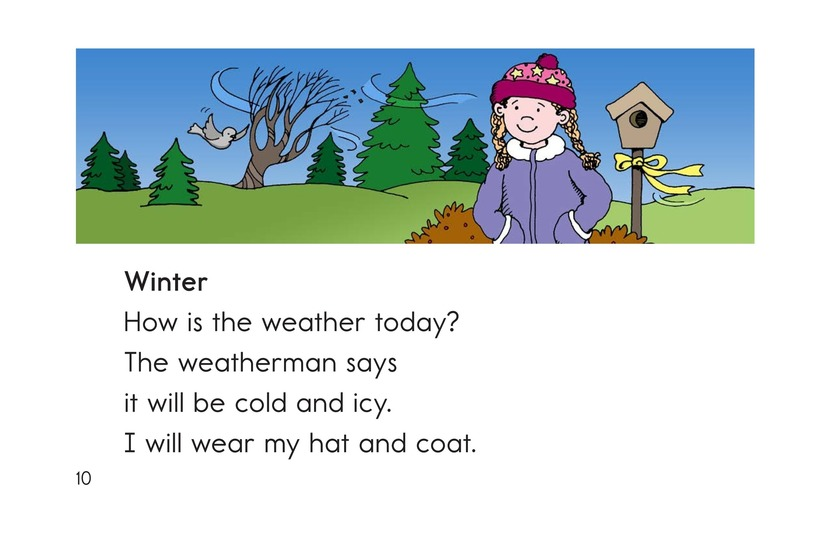 Book Preview For How Is the Weather Today? Page 10