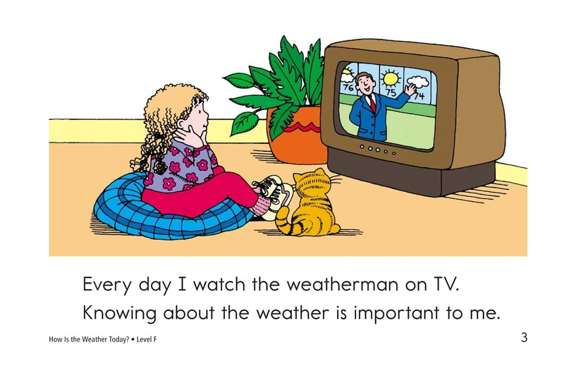 Book Preview For How Is the Weather Today? Page 3