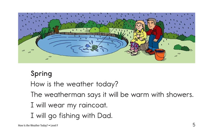 Book Preview For How Is the Weather Today? Page 5