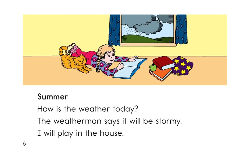 Book Preview For How Is the Weather Today? Page 6