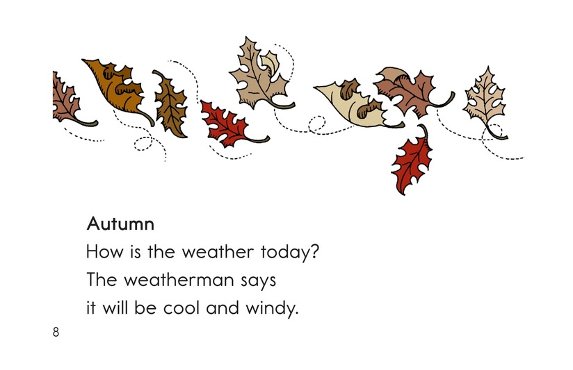 Book Preview For How Is the Weather Today? Page 8