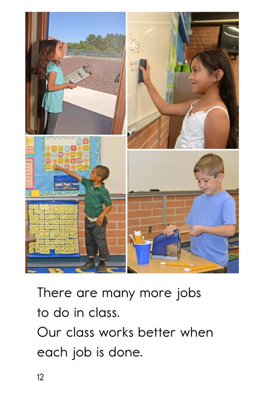 Book Preview For Jobs We Do at School Page 12