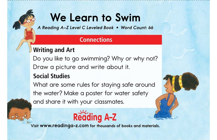 Book Preview For We Learn to Swim Page 11