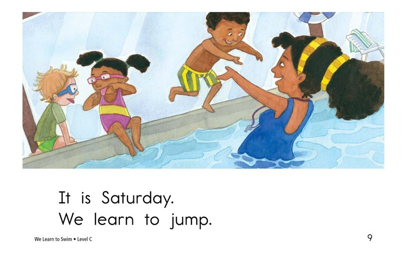 Book Preview For We Learn to Swim Page 9