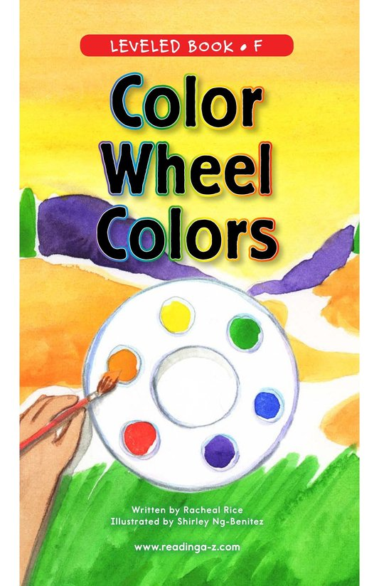 Book Preview For Color Wheel Colors Page 0