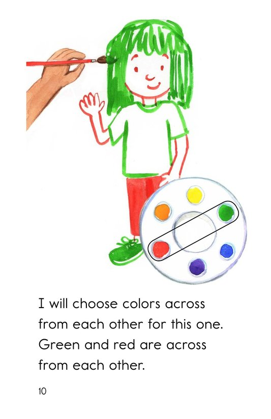 Book Preview For Color Wheel Colors Page 10