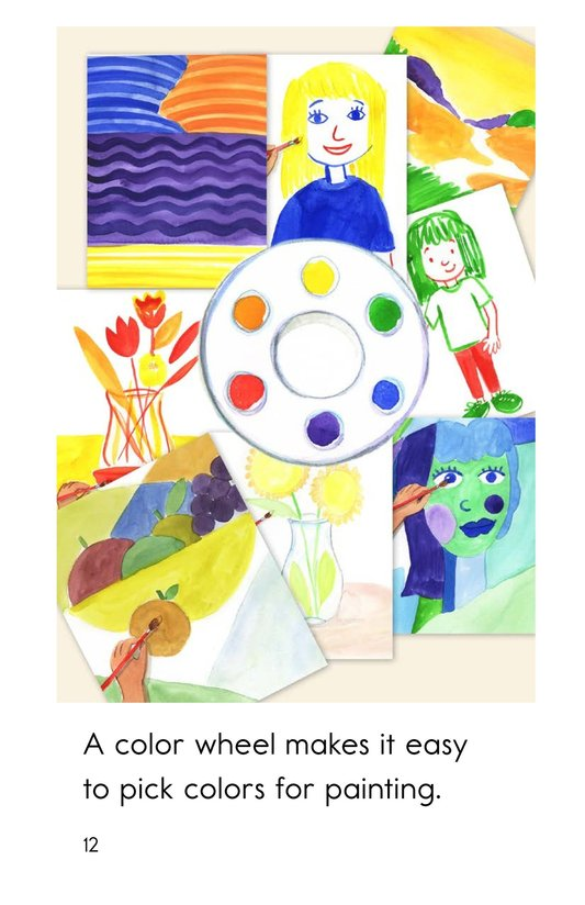 Book Preview For Color Wheel Colors Page 12