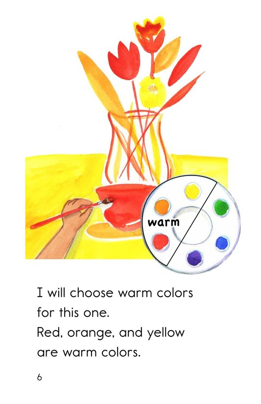 Book Preview For Color Wheel Colors Page 6