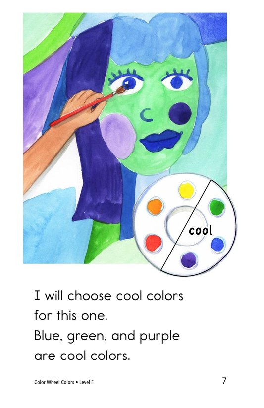 Book Preview For Color Wheel Colors Page 7