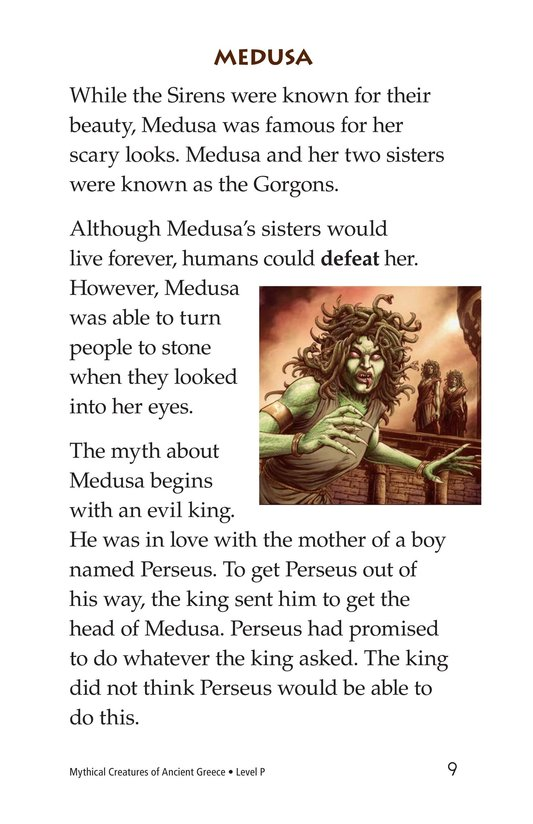 Book Preview For Mythical Creatures of Ancient Greece Page 9