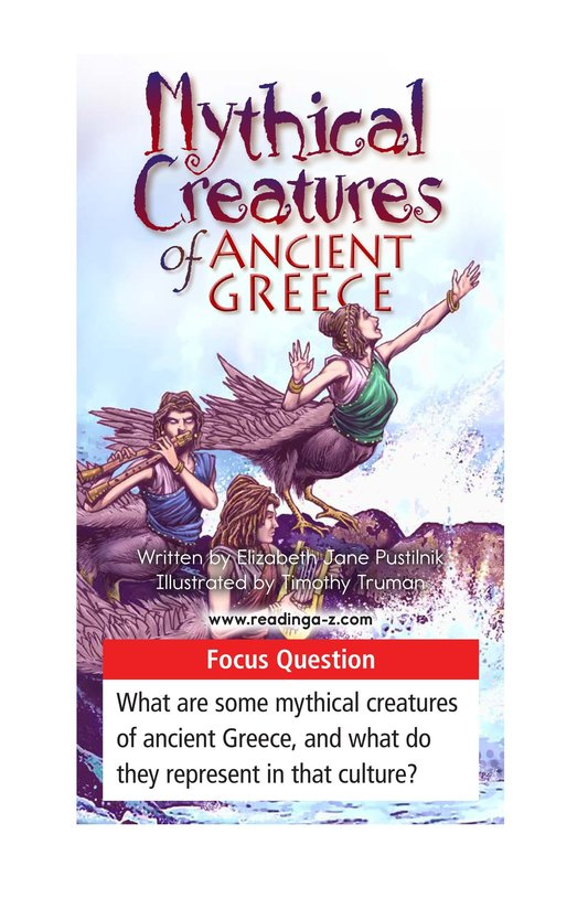 Book Preview For Mythical Creatures of Ancient Greece Page 1