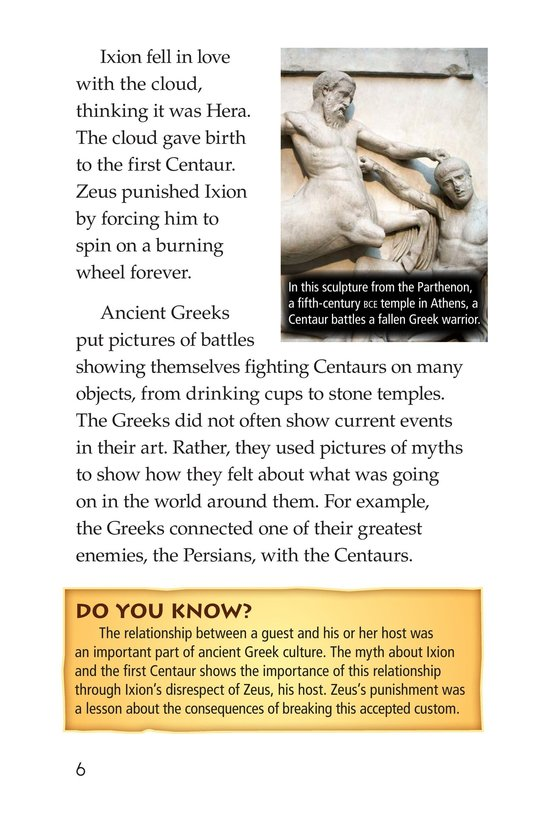 Book Preview For Mythical Creatures of Ancient Greece Page 6