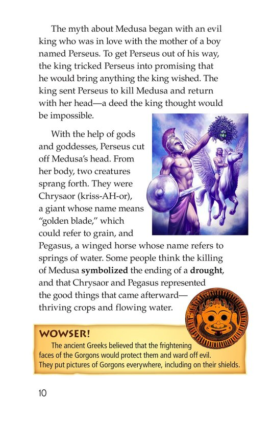 Book Preview For Mythical Creatures of Ancient Greece Page 10