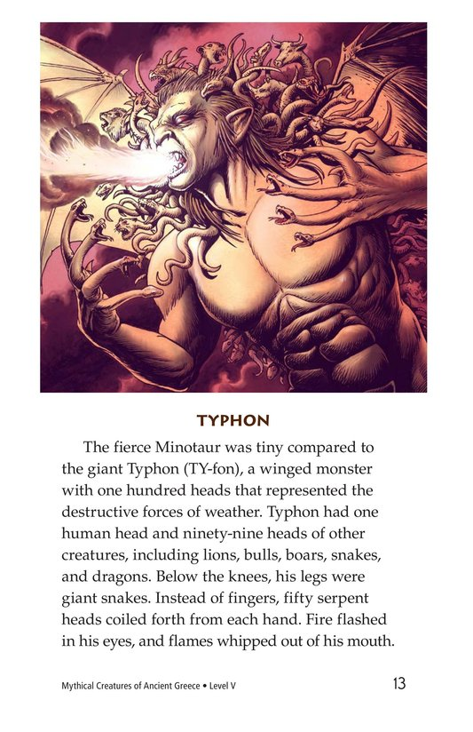 Book Preview For Mythical Creatures of Ancient Greece Page 13