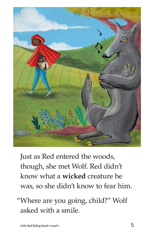 Book Preview For Little Red Riding Hood Page 5