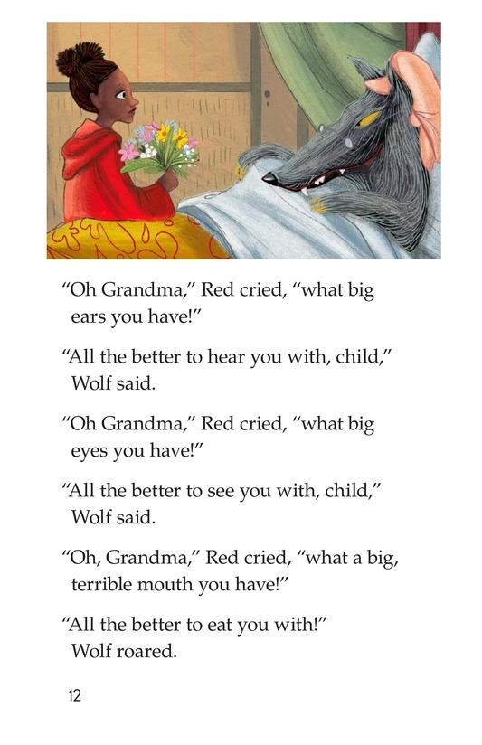 Book Preview For Little Red Riding Hood Page 12