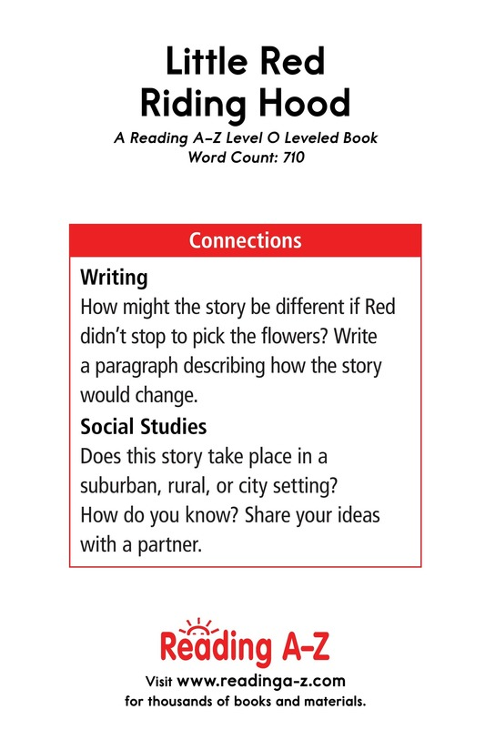 Book Preview For Little Red Riding Hood Page 17