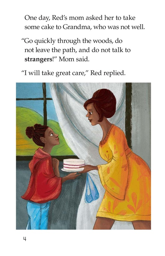 Book Preview For Little Red Riding Hood Page 4