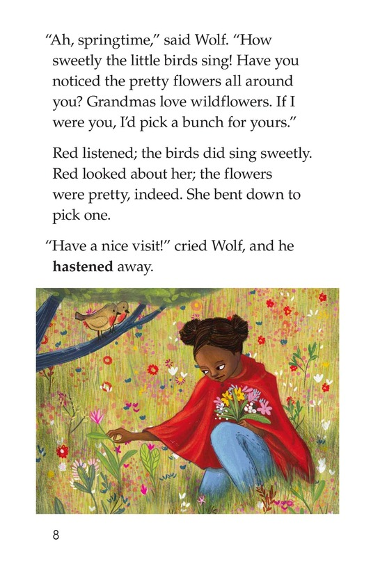 Book Preview For Little Red Riding Hood Page 8