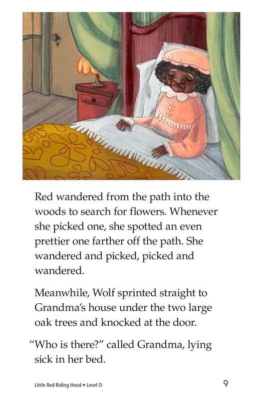 Book Preview For Little Red Riding Hood Page 9