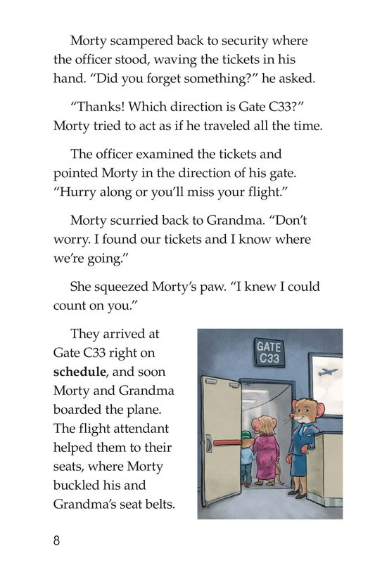 Book Preview For Captain Morty Commands the Sky Page 8