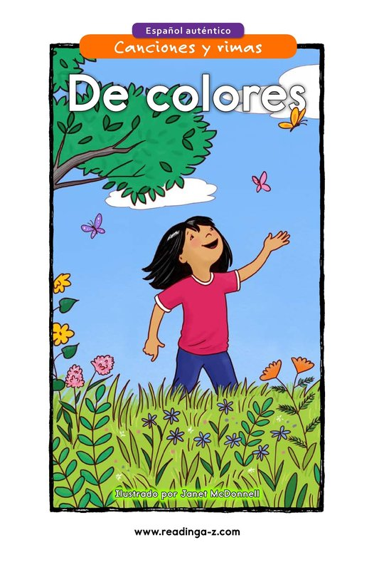 Book Preview For De colores Page 1