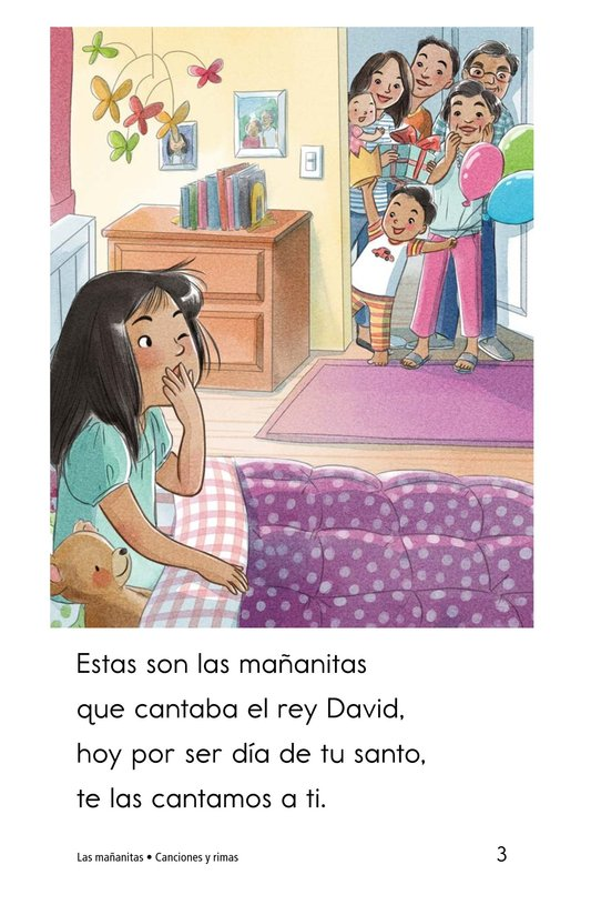 Book Preview For Las mañanitas Page 3