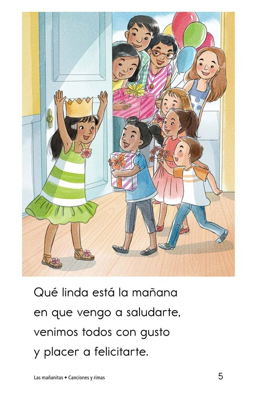 Book Preview For Las mañanitas Page 5