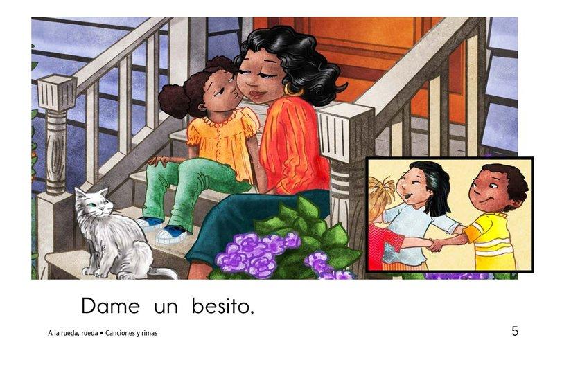 Book Preview For A la rueda, rueda Page 5