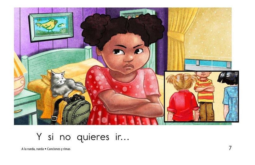Book Preview For A la rueda, rueda Page 7
