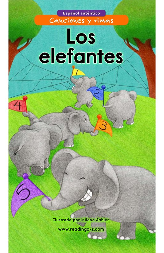 Book Preview For Los elefantes Page 1