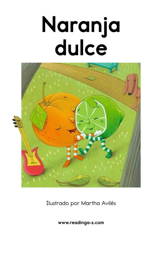 Book Preview For Naranja dulce Page 2