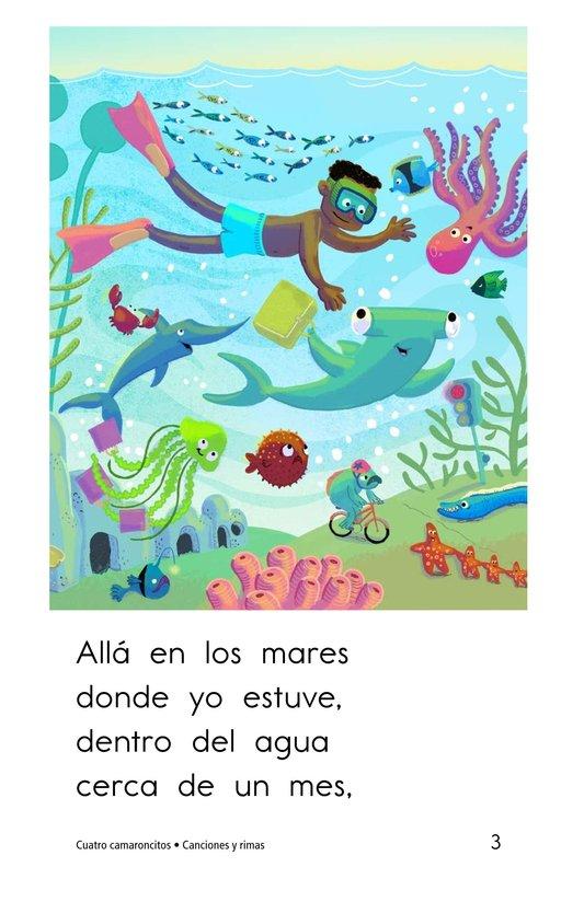 Book Preview For Cuatro camaroncitos Page 3