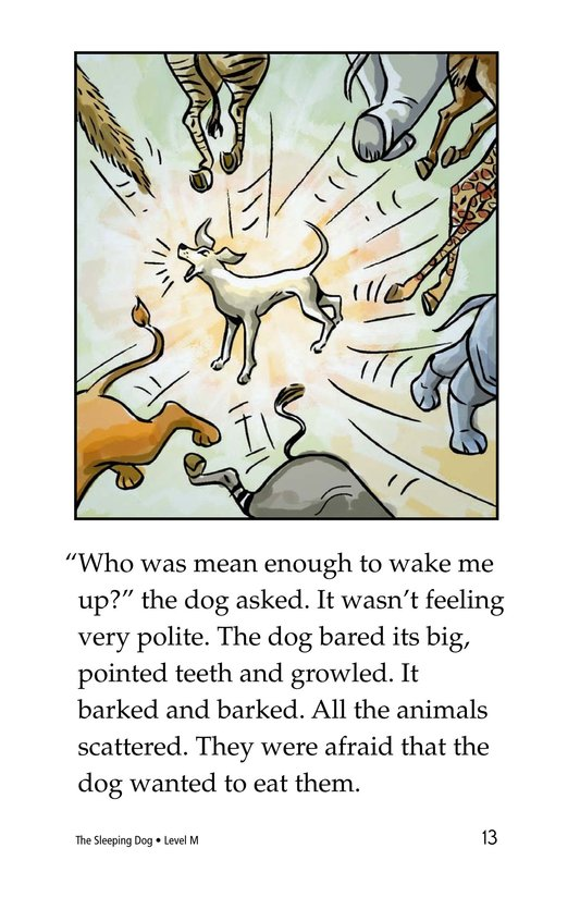 Book Preview For The Sleeping Dog Page 13