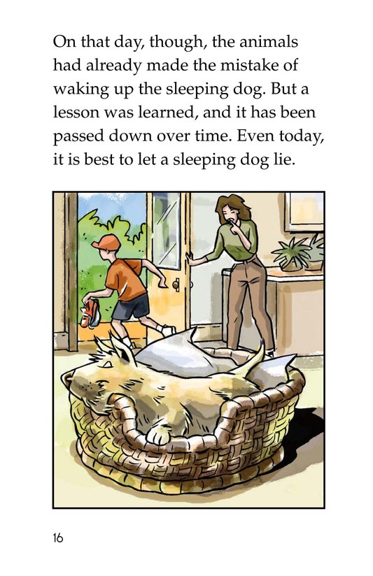 Book Preview For The Sleeping Dog Page 16