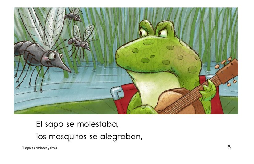 Book Preview For El sapo Page 5