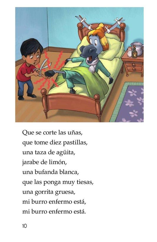 Book Preview For Mi burro enfermo Page 10