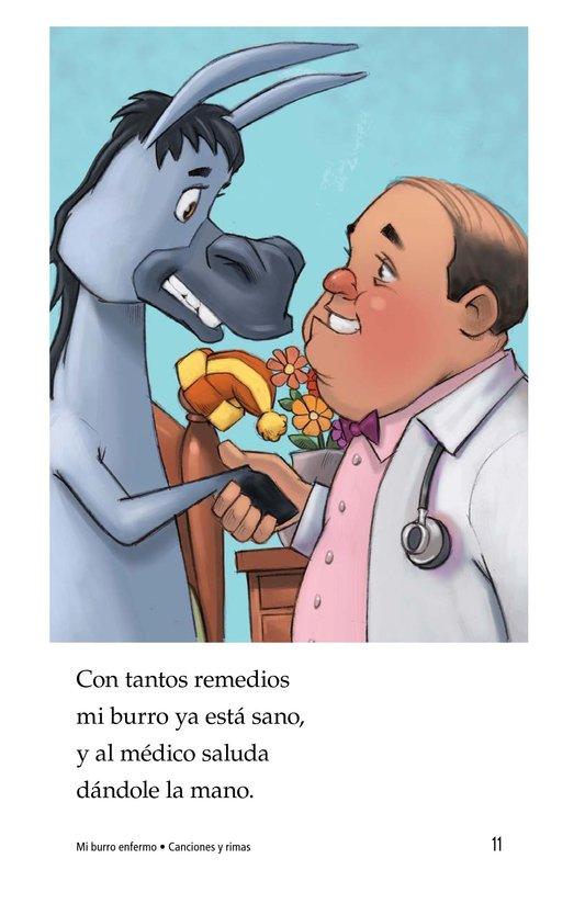 Book Preview For Mi burro enfermo Page 11