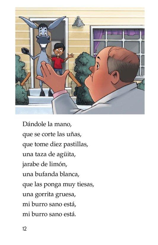 Book Preview For Mi burro enfermo Page 12