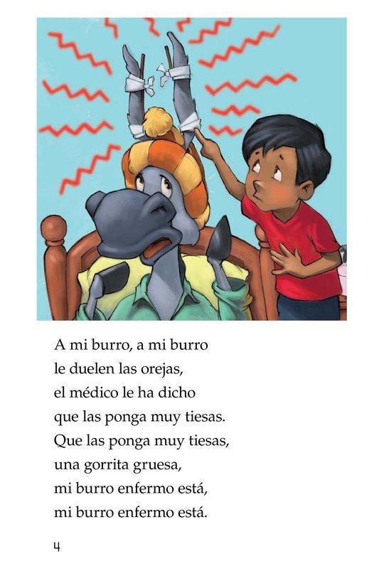 Book Preview For Mi burro enfermo Page 4