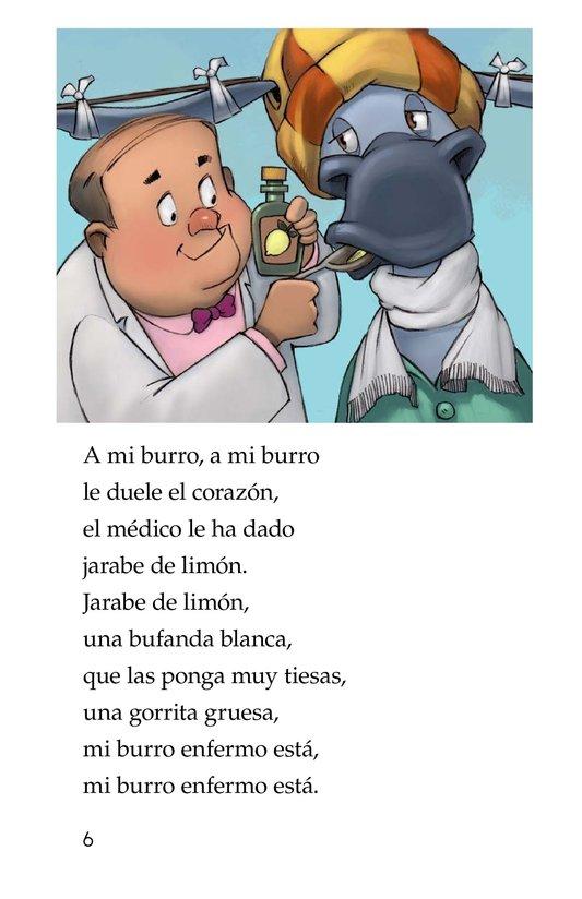 Book Preview For Mi burro enfermo Page 6