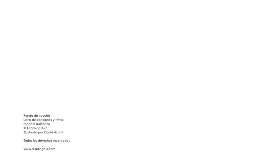 Book Preview For Ronda de vocales Page 11