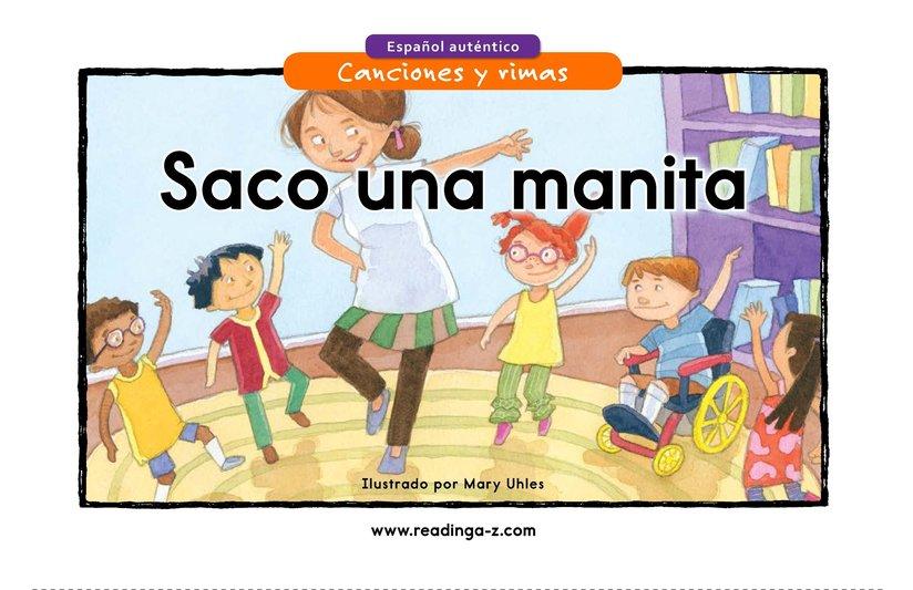 Book Preview For Saco una manita Page 1