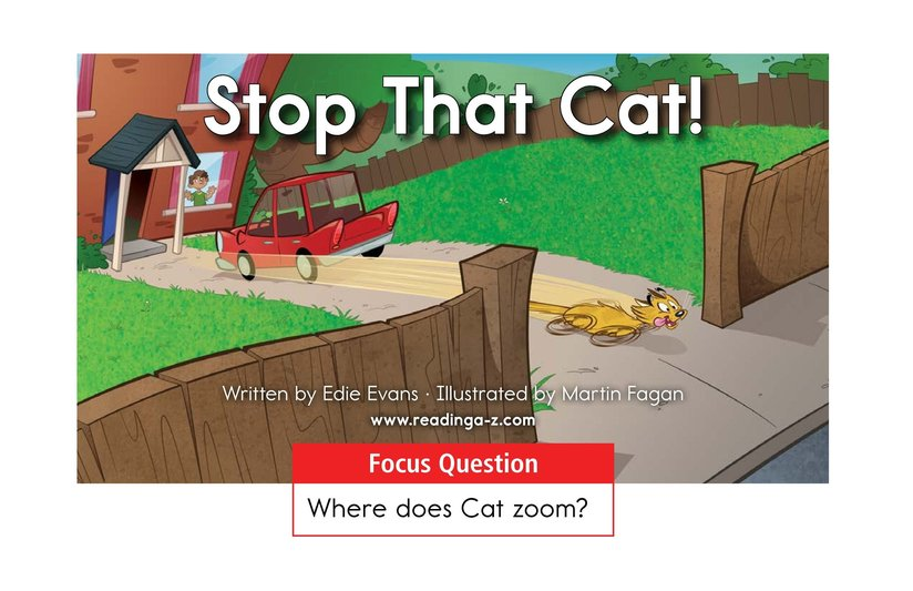 Book Preview For Stop That Cat! Page 1