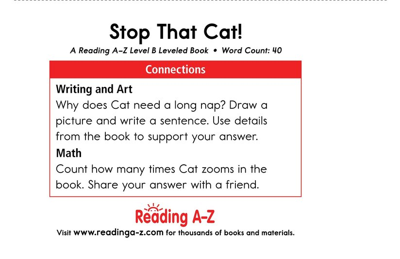 Book Preview For Stop That Cat! Page 11