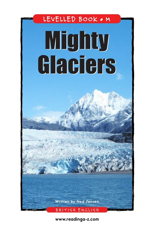 Book Preview For Mighty Glaciers Page 1