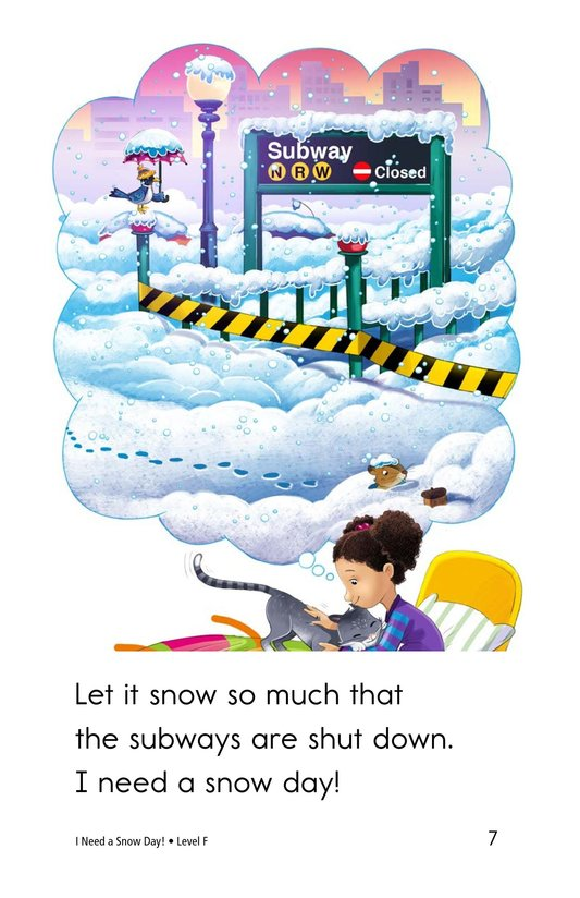 Book Preview For I Need a Snow Day! Page 7